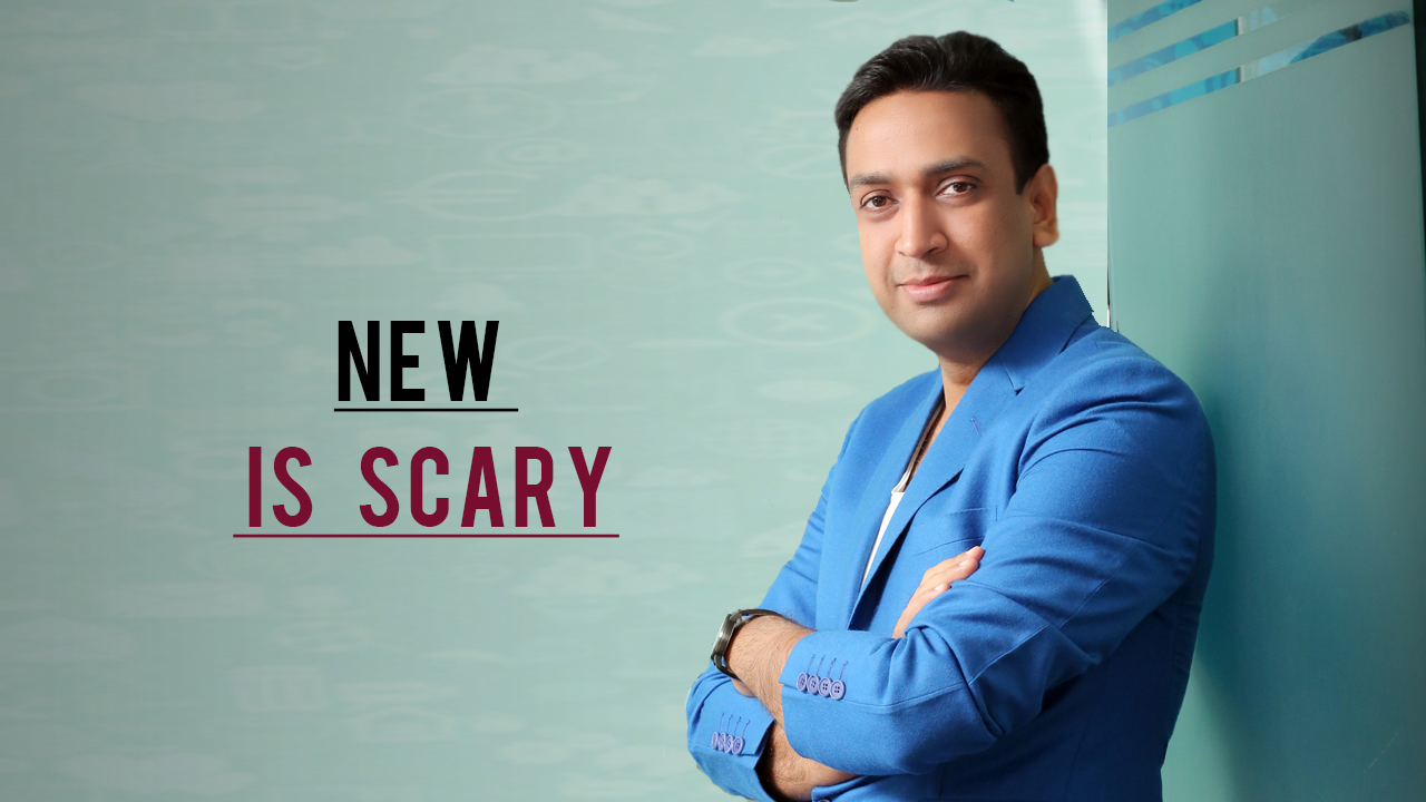 Sachin mittal - Building Anything New Is Scary And Uncertain – But Completely Necessary !