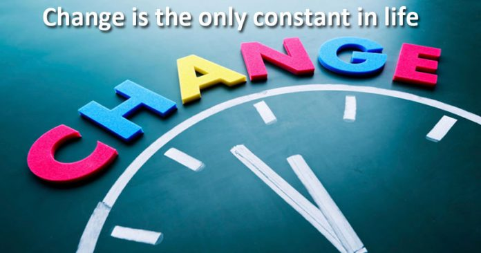 the idea of constant changes in life Heraclitus, a greek philosopher, is quoted as saying change is the only constant in life this saying has also been translated to the only constant is change heraclitus is believed to have.